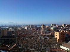 Vista de Cagliari desde Buoncamino