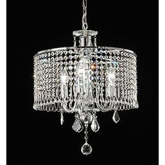 Elija Crystal Chandelier
