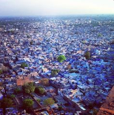 Jodhpur Is Called The Blue City, And It Is Absolutely Breathtaking