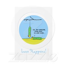 "Cute Funny Offbeat Cartoon ""Save The Date"" Personalized Announcements from Zazzle.com"