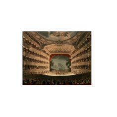 New Covent Garden Theatre from Ackermann's 'Microcosm of London'... ($39) ❤ liked on Polyvore featuring home, home decor, wall art, artists-thomas rowlandson, giclee poster, london wall art, garden wall art, garden home decor and london poster