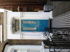 Oh for a pale blue door.