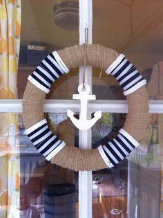 DIY Nautical Wreath
