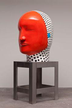 Las esculturas de cabezas gigantes del artista japonésJun Kaneko.                                 — Jun Kaneko