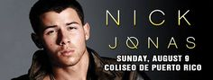 Nick Jonas: Live in Concert #sondeaquipr #nickjonas #coliseopr #choliseo #hatorey #sanjuan