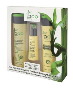Boo Bamboo Hair Care Gift Set - Bamboo extract is the richest known source of natural silica containing over organic silica. Bamboo Hair Products, Bamboo Care, Fast Growing Plants, Natural Solutions, Shampoo And Conditioner, Biodegradable Products, Moisturizer, Hair Care, Alcohol