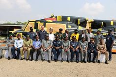 Maritime: [Photos] Customs hand over 2 impounded helicopters worth N9bn to Nigeria Air Force   The Nigeria Customs Service Murtala Mohammed International Airport Command (MMIA) have intercepted and seized two Civil Models 412 EP of Bell Helicopters and 23 packages containing various accessories with duty paid value of N9757135240.86.   Presenting the seized Helicopters and its accessories to the Nigerian Airforce the Comptroller-General of Customs Col. Hameed Ibrahim Ali (Rtd) represented…
