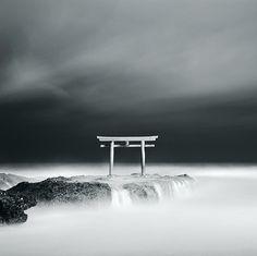 Shinto shrine in the sky by yu+ichiro, via Flickr