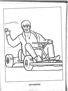 the beatles coloring page 13 - Beatles Coloring Book