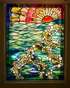 simply stained glass contemporary stained glass windows