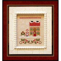 Santa's Village - Mrs. Claus' Cookie Shop - Country Cottage Needleworks