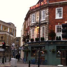 The Golden Heart Pub. London.
