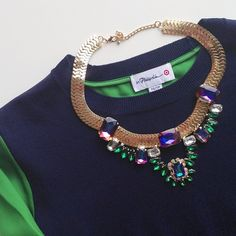 Necklace By: Ily Couture styled by @Q