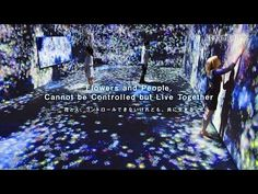 Flowers and People, Cannot be Controlled but Live Together / 花と人、コントロールできないけれども、共に生きる - YouTube