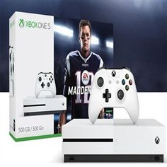 Microsoft Xbox One or PS4. I'm not picky but I can get 17% off through Dell. Preferably with FIFA though