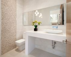bathrooms with split face tiles - Google Search