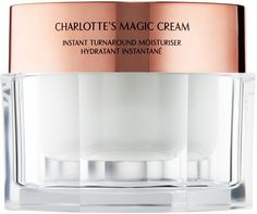 Save   Splurge: 7 Affordable Alternatives to Your Favorite Skincare Products | Swift Charlotte Tilbury Magic Cream, Drugstore Skincare, First Aid Beauty, Beauty Companies, Clean Makeup, Vegan Beauty, Moisturiser, Skin Brightening, The Balm