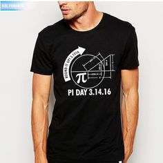 KOLVONANIG 2017 Summer Big Bang Theory Fashion Round It Up Math Graph STEM Printed T Shirt Streetwear Mens T-Shirt Tops Tees Ape