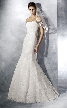 Pronovias wedding gowns are renowned for their classic silhouettes and touches of timeless glamour. View the collection of Bridal Dresses at Anya Bridal