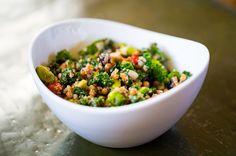 healthy raw dish
