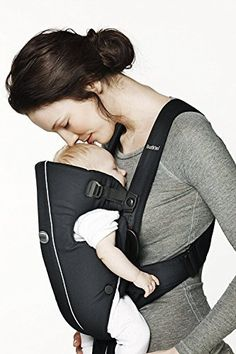 e266f69b694 Baby Bjorn 023056US The Original Classic Baby Carrier – 0+ Months 8-25 LBS  Black
