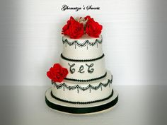 Ghemutza's Sweets: Tort Nunta C Sweets, Cakes, Desserts, Food, Tailgate Desserts, Deserts, Gummi Candy, Cake Makers, Candy