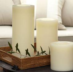 Картинки по запросу белые напольные свечи