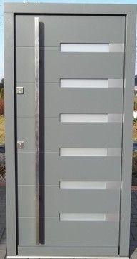 Modern Exterior Door Model 009 - modern - Front Doors - New York - Modern Home Luxury