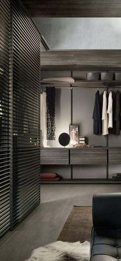 Stylish life // urban closets // city life // mens fashion // interior // home decor // bedroom // city suite // urban loft //