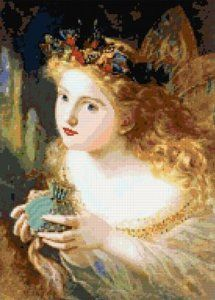 Victorian Fairy Counted Cross Stitch Kit