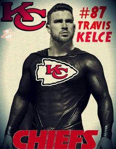 I love chiefs football and I like Travis Kelce. Chiefs Memes, Nfl Chiefs, Kansas City Chiefs Shirts, Kc Football, Kansas City Chiefs Football, Football Shirts, Football Stuff, American Football, Travis Kelce