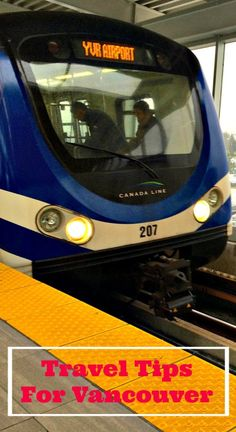 Travel tips for Vancouver Canada >> like take the Skytrain it's fast and efficient    via @rtwgirl