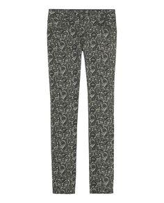 Bandana print jeans - The Kooples