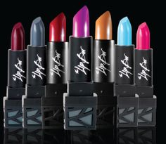 Our lipsticks from the Power Trip collection and Cocktails on the Rocks! Get yours today through igg.me/at/thelipbar! Hurry before time runs out. xoxo