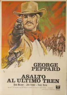 Resultado de imagen de carteles de peliculas del oeste