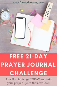 Take the FREE Prayer Journal Challenge to give your prayer life a jump-start today. Take your relationship with Christ to a new level.