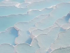 Pamukkale cliff pools, Turkey