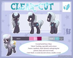 | gift | Clear-Cut Reference Sheet by ArcadianPhoenix on DeviantArt