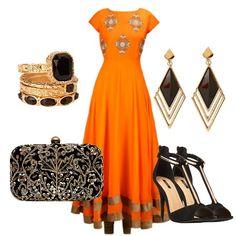 Tangerine Twist #fashion #tangerine #brandiktivindia