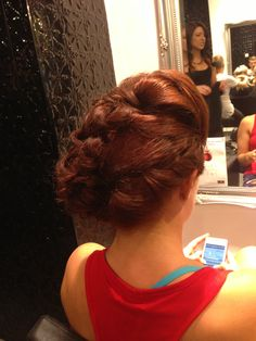 Fabulous #updo from Wollongong. Book online for this #salon at http://bit.ly/WFb4jJ #blowdrybar