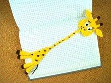 Lesezeichen Giraffe Häkelanleitung