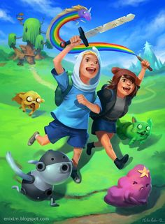 Adventure Time by MihaiRadu