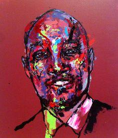 an ordinary person 9, acrylic on canvas, 53.0cm x 45.5, 2013