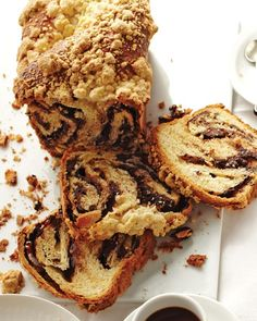 Yeasted Chocolate Coffee Cake - Martha Stewart Recipes
