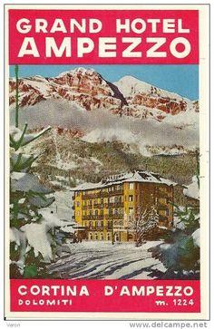 Grand Hotel Ampezzo, Cortina - Dolomites, province of Belluno, Veneto, Northern Italy