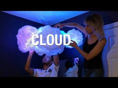 DIY Cloud Lamp ☁ | Superholly - YouTube