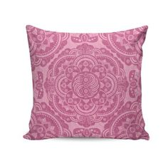 Capa para almofada Pink indian pattern 45x45