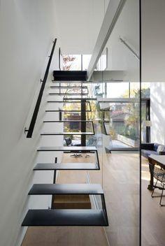 Diseño de peldaños de escaleras modernas
