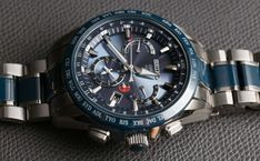 Seiko Astron GPS Solar Dual Time Watch Review | aBlogtoWatch Gadget Watches, Gps Watches, Seiko Sportura, Types Of Technology, Photovoltaic Cells, Herren Chronograph, Mechanical Watch, Casio, Omega Watch