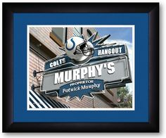 Use this Exclusive coupon code: PINFIVE to receive an additional 5% off the Indianapolis Colts NFL Personalized Pub Print at SportsFansPlus.com